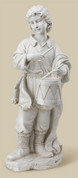 1 Drummer Boy White made from resin part of Joseph's Studio stands 30 inches tall RO30011