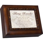 Always Remembered Urn Wood Grain CGCUN3