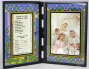 Stained Glass Baby Baptismal Prayer to Guardian Angel SIPR198BN7E