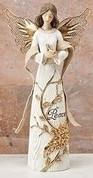 Angel Statue Bird of Peace RO30731B