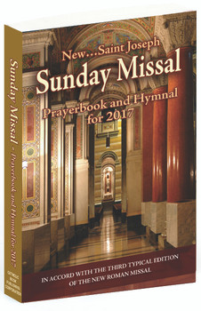 2017 Saint Joseph Sunday Missal and Hymnal for use at Catholic Eucharistic Mass Celebration CB201704