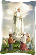 Plaque Our Lady of Fatima Available in 2 Sizes FARM41