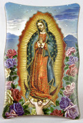 Plaque Our Lady of Guadalupe Roses FAR1269M51