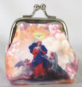 Rosary Pouch Our Lady Untier of Knot Marian Blue Bead Rosary FAR1071M251