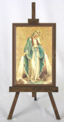 Framed Icon Our Lady of Grace Easel Style FAR1221M01