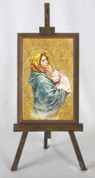 Framed Icon Madonna of the Street Easel Style FAR1221M10