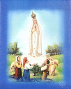 Lighted Canvas Our Lady of Fatima Children RI47800FA