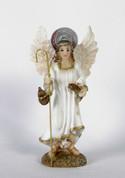 "Archangel Raphael Statue Size 4"" RI20421"