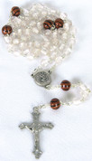 Sports Rosary Basketball White Beads DV60465BSK