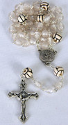 Sports Rosary Volleyball White Beads DV60465VLB