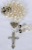 My Sports Rosary Soccer White Beads DV60465SOC
