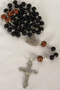 My Sports Rosary Basketball Black Beads DV60965BSK