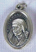 St Teresa of Calcutta Protect Us Oxidized Metal BOM43E