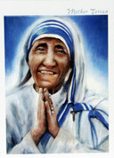 Saint Mother Teresa of Calcutta Individual or Box Cards ZMMT2
