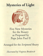 Mysteries of Light Supplement Use With Scriptural Rosary Booklet CESRB