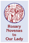 Rosary Novenas To Our Lady Booklet Large Print by Charles Lacey AC279