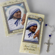 Rosary and Booklet St Teresa of Calcutta RI11400MOT