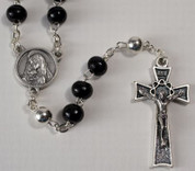 black-rosary-glass-beads-with-silver-ox-crucifix-and-center
