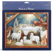 Children's Puzzle Away In The Manger 64 Pieces DEM60399B