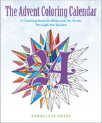 Coloring Book for Adults Advent Calendar 9781612617657