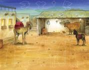 Sticker Advent Calendar Bethlehem's Child Nativity Scene VCBB208