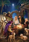 Advent Calendar Shining Light Envelope Bible Text VCBB523