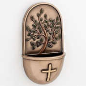 """Tree of Life Holy Water Font 6"""" RO10864"""