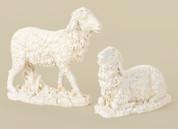 "1 Piece 27"" Scale Nativity 2 Sheep 14.5"" Ivory Joseph's Studio RO39543"
