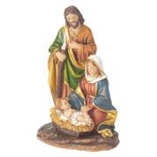 "Holy Family Figurine Nativity 5.25"" Resin Vivid Colors DICHFIGR101"