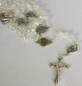 Rosary | Journey to the Nativity | Crystal Glass Beads | COC07771C