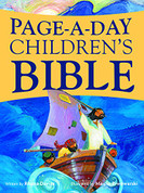 Page A Day Children's Bible is a 400 Page Paperback Bible Children 8-10 Years Old English Grades 3-5 9780819860323 6 x 1.4 x 8.1 inches