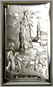 Our-Lady-Of-Fatima-with-children-Plaque-made-of-Miro-Silver-Metal-and-Wood-measures-4-and-1-quarter-by-2-and-1-half-inches-Made-In-Italy-VALFATIMA3L