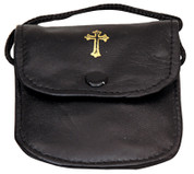 Burse-For-Pyx-made-of-Black-Leather-with-Snap-Button-and-Attached-Cord-Accommodates-Pyx-Measuring-up-to-2-and-1-eighth-inches-by-2-and-1-half-inches-KOK3110