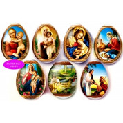 Easter Egg Wraps with 7 Religious Iconic Designs EW19