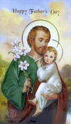 Father's Day With St Jospeh And Child Greeting Card Style 113192