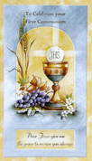 First Communion Greeting Card General Style 1131007