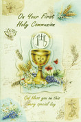 First Holy Communion Greeting Card General Style 113119