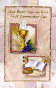 First Communion Greeting Card General Style 119029