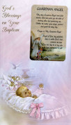 Baby Baptism Girl Greeting Card Style 113219