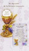 Prímera Comunión Tarjeta de Felicitación Style 113210
