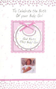 Celebrate Birth Girl Greeting Card Style 113189