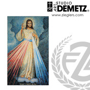 Divine Mercy in Mosaic Available in 3 Sizes Style 100-49FR Demetz