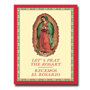 Lets Pray the Rosary Resemos El Rosario Bilingual Booklet PB SIB17SE