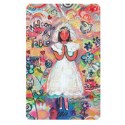 Prayer Card Welcome to My Table First Communion Girl DIBKMPK122