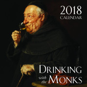 Wall Calendar | 2018 | Drinking With the Monks | 9781505109979