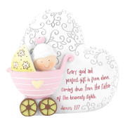 "Baby  Girl Bank | 7-3/4"" x 6-1/4"" 