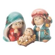"3 Piece Mini Nativity | Resin | Childlike Figures | 3"" | CHNAT544"