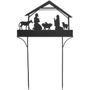 "Yard Sign | Nativity | 24"" x 38-1/2"" 