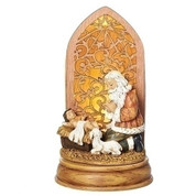 Kneeling Santa Figurine | 7-1/4"