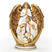 Angel Watching Figurine | 10"